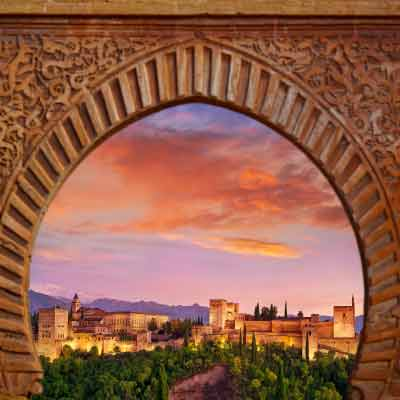 Taronjete the backpacker. Granada